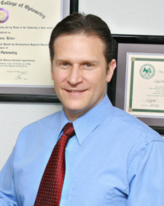 Clay O. Reber O.D., Board Certified